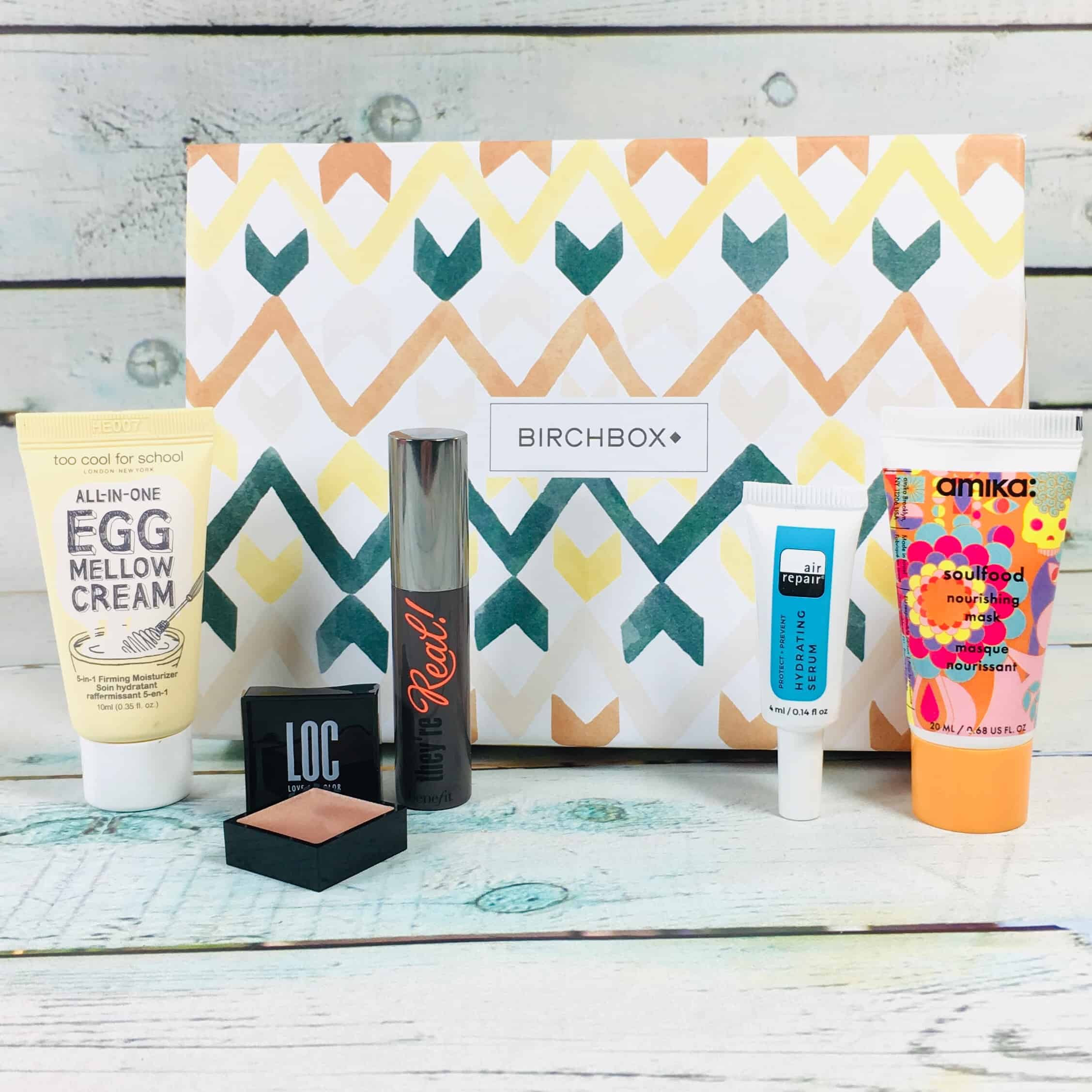 Birchbox November 2018 Curated Box Review + Coupon!