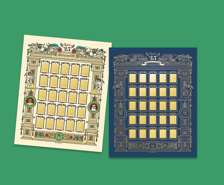 2018 Monty Python Scratch-Off Advent Calendars Coming Soon!