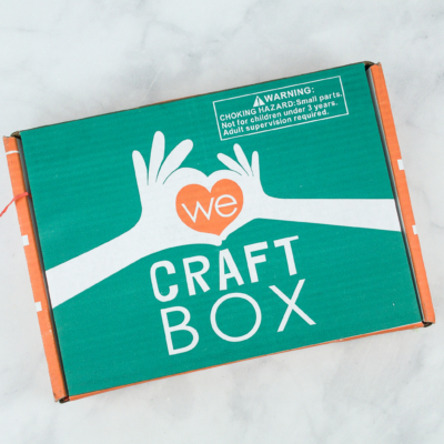 We Craft Box Subscription Update + August 2019 Spoilers + Coupon!