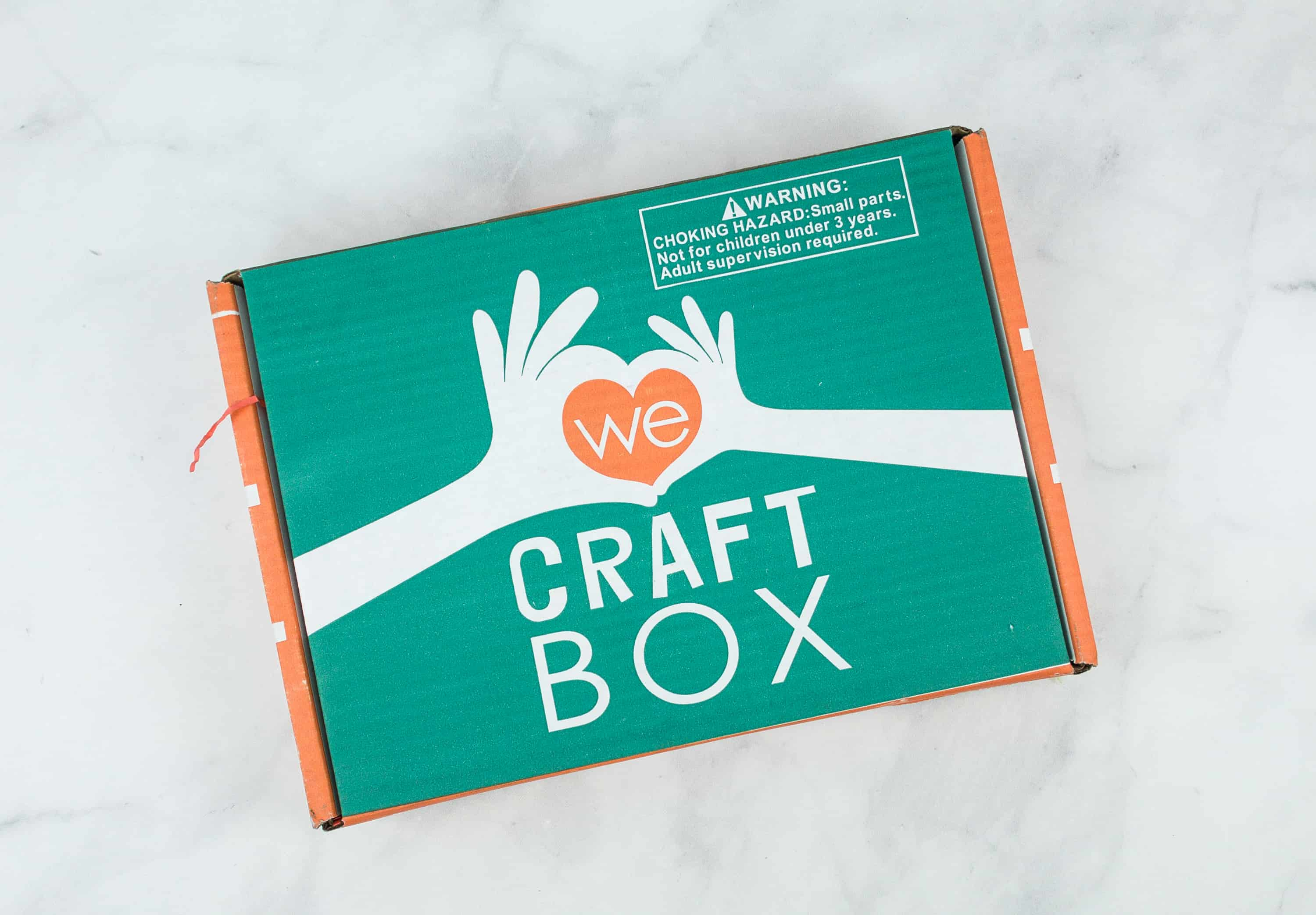 We Craft Box January 2019 Spoilers + Coupon!