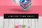 Quilty Box Deal: Get The Hello Jane Fat Eighths Bundle For Only $10!