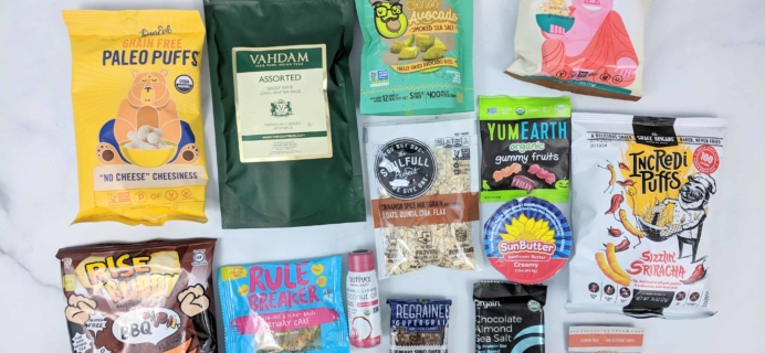 Vegan Cuts Snack Box October 2018 Subscription Box Review