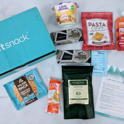 FitSnack October 2018 Subscription Box Review & Coupon