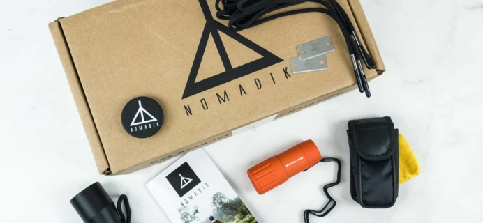 Nomadik October 2018 Subscription Box Review + Coupon