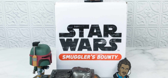 Smuggler's Bounty October 2018 Subscription Box Review – CLOUD CITY Box!