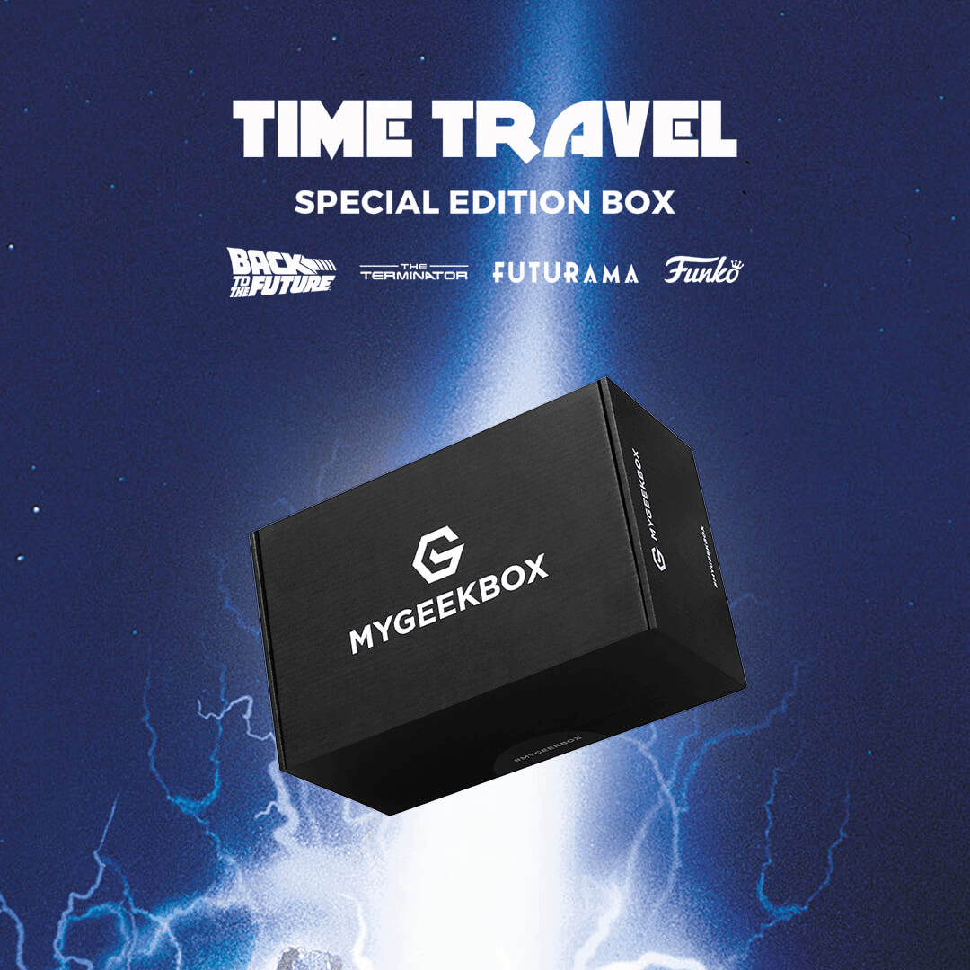 My Geek Box Special Edition Time Travel Box Full Spoilers!