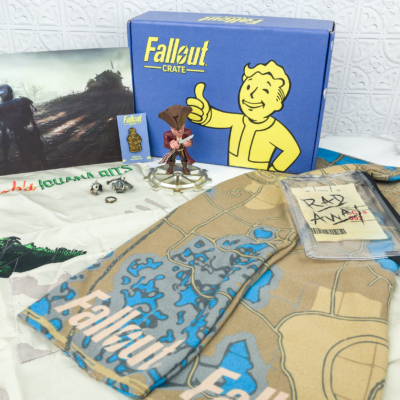 Loot Crate Fallout Crate October 2018 Review + Coupon