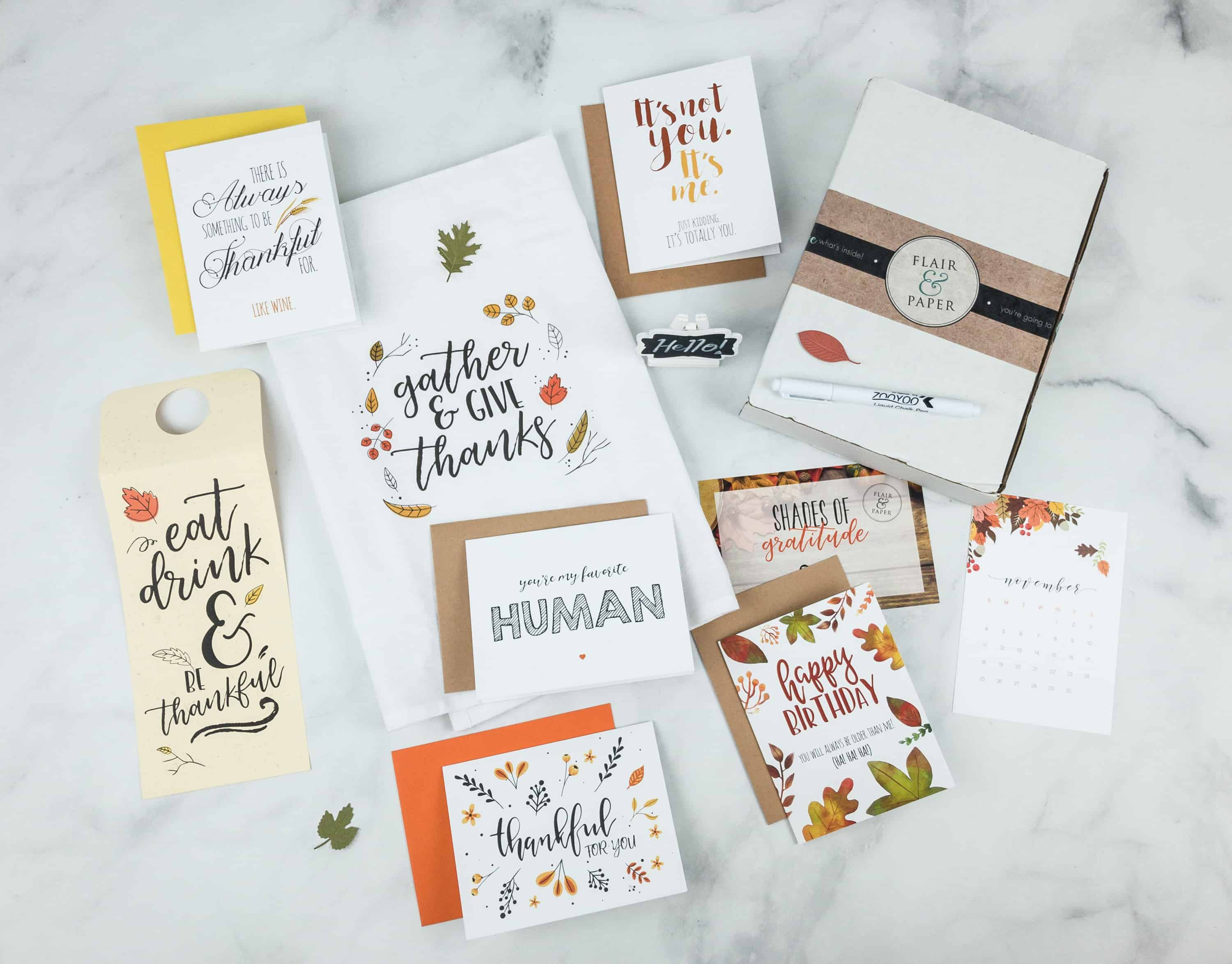 Flair and Paper Black Friday Deal: Get 20% off All Orders of Flair and Paper