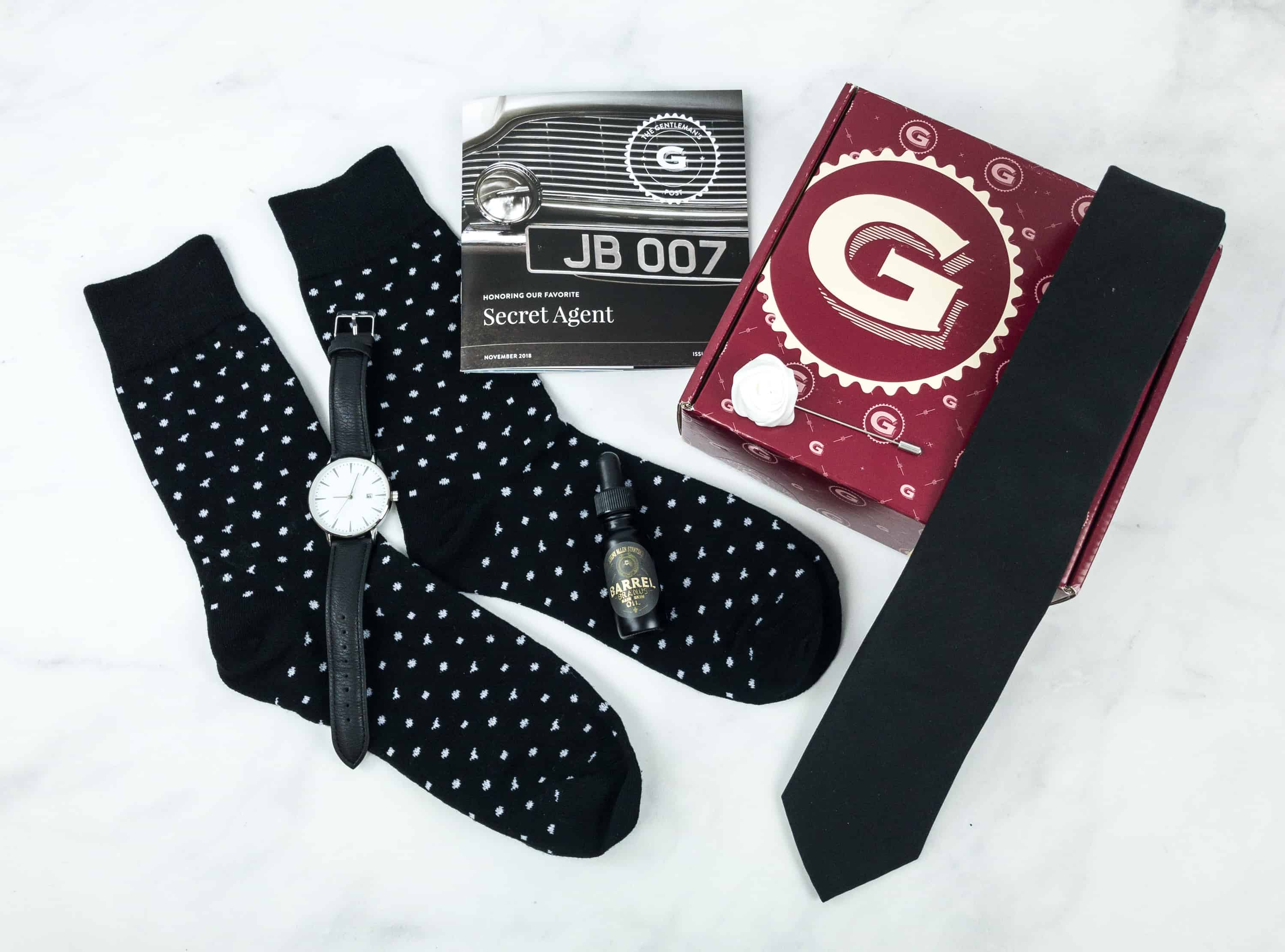 The Gentleman's Box November 2018 Review & Coupon