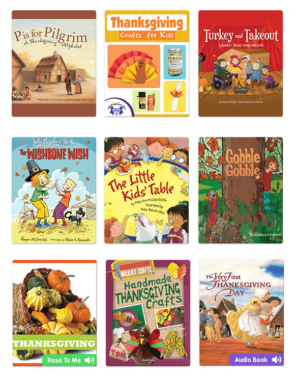 Epic! Kids Books – Thanksgiving Books & Crafts Collection + TWO Free Months Coupon!
