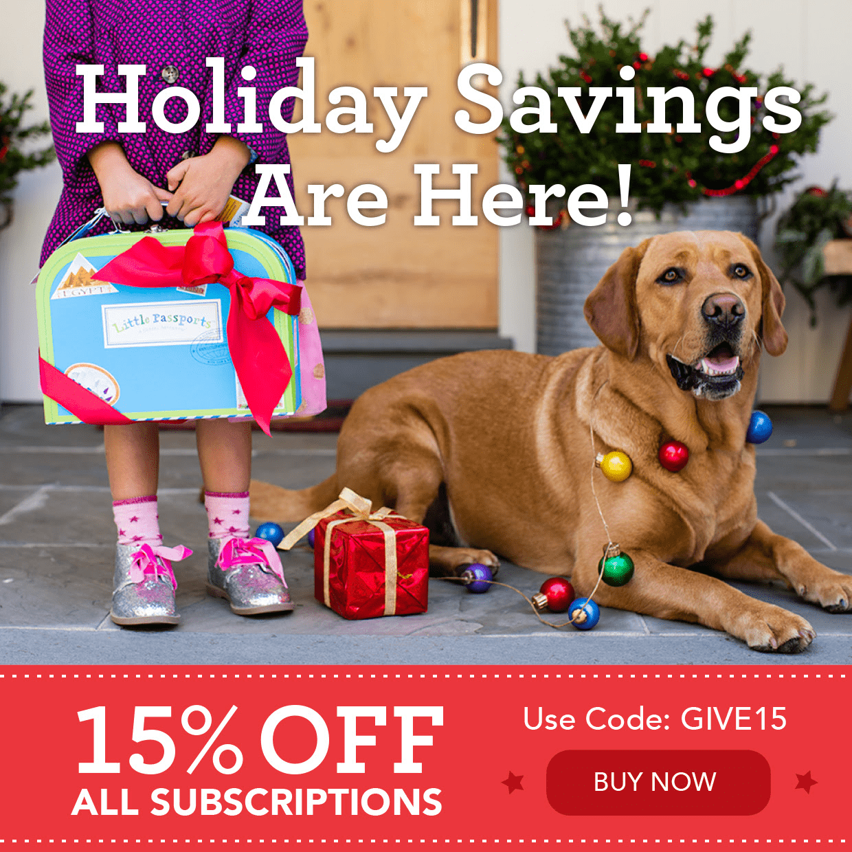 Little Passports Holiday Coupon: Save 15% On All Subscriptions! LAST FEW DAYS!