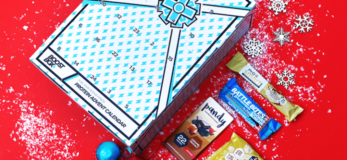 Boostbox Protein Advent Calendar Available Now + Spoilers!