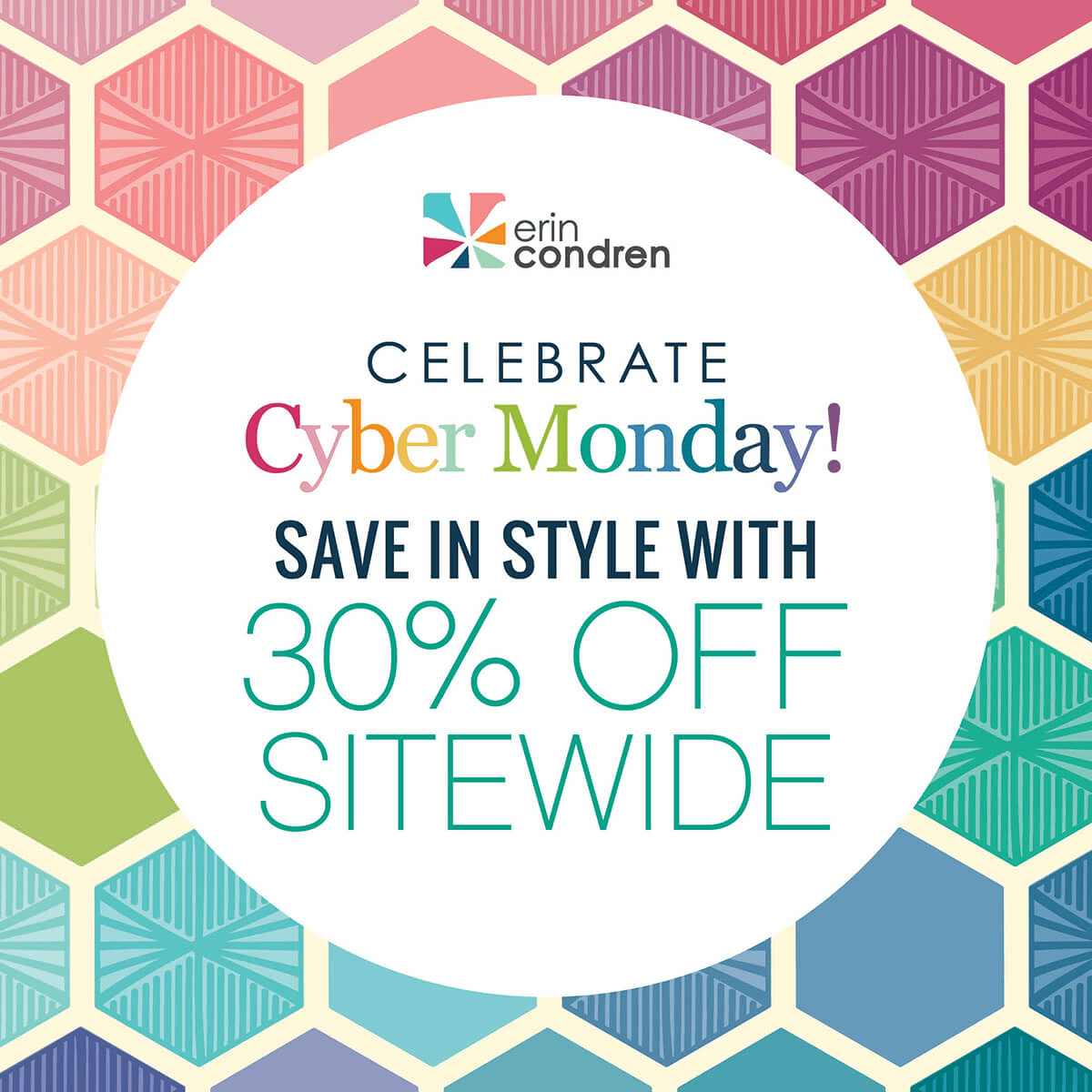 Erin Condren Cyber Monday Coupon ENDS TONIGHT: 30% Off Coupon!