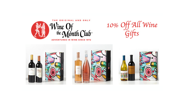 The Original and Only Wine of the Month Club Early Holiday Sale: Get 10% Off On All Wine Gifts!