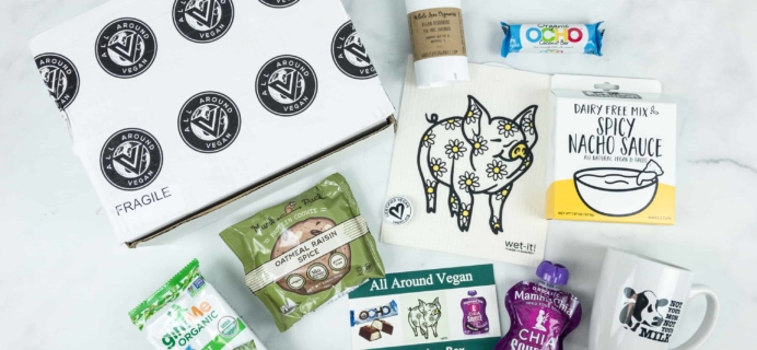 All Around Vegan Box Black Friday 2018 Sale! Save Up to 50% off!