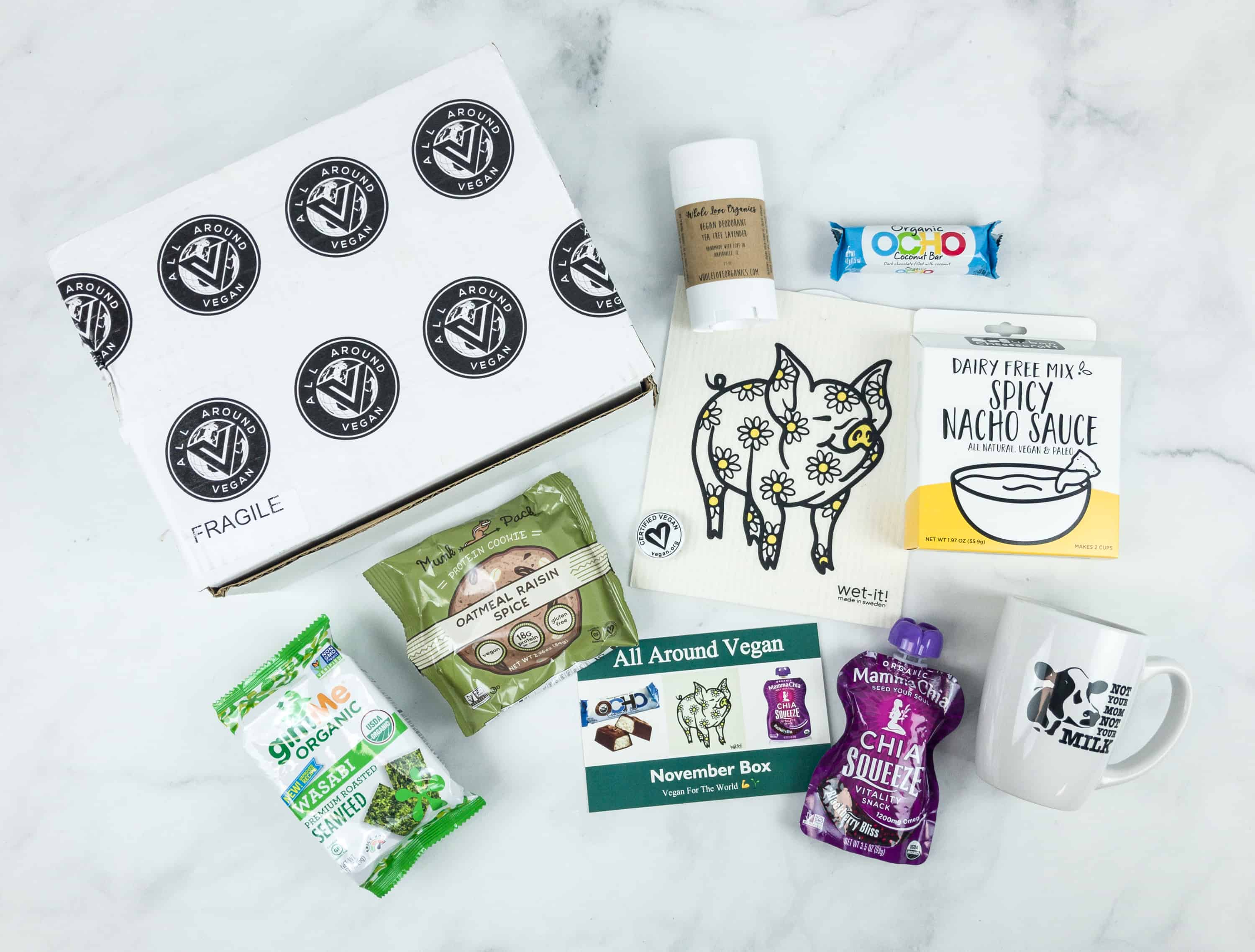 All Around Vegan Box Cyber Monday 2018 Sale! Save Up to 50% off!