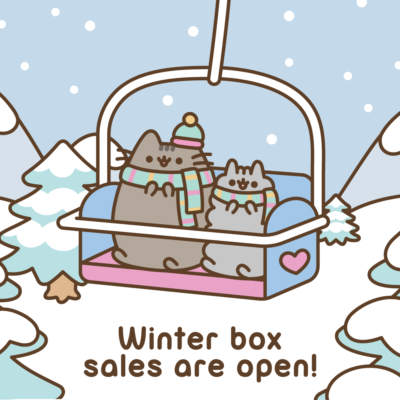 Pusheen Box Winter 2018 Box Sales Open!