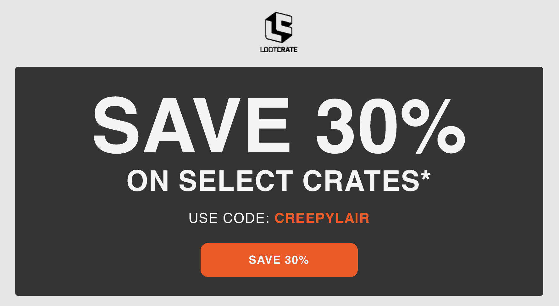 Loot Crate Coupon: Get 30% Off Core Crate, Loot Fright, and Marvel Gear + Goods Subscriptions!