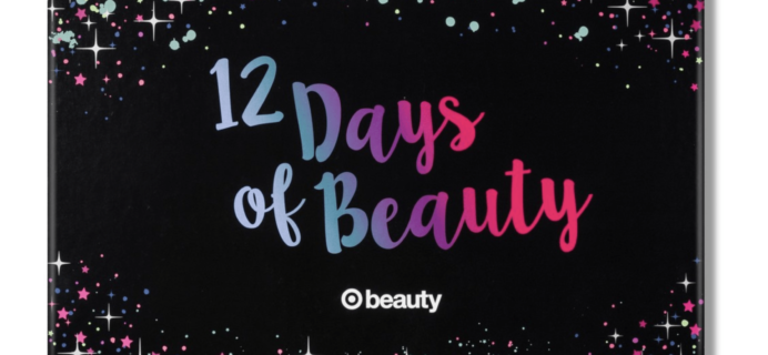 2018 Target 12 Days of Beauty Advent Calendar Available Now + Full Spoilers!