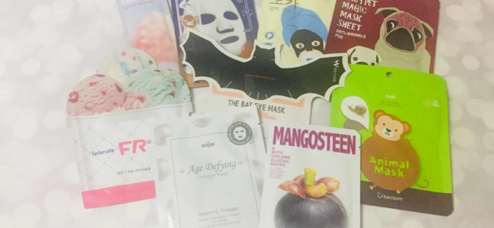 Beauteque Mask Maven October 2018 Subscription Box Review + Coupon
