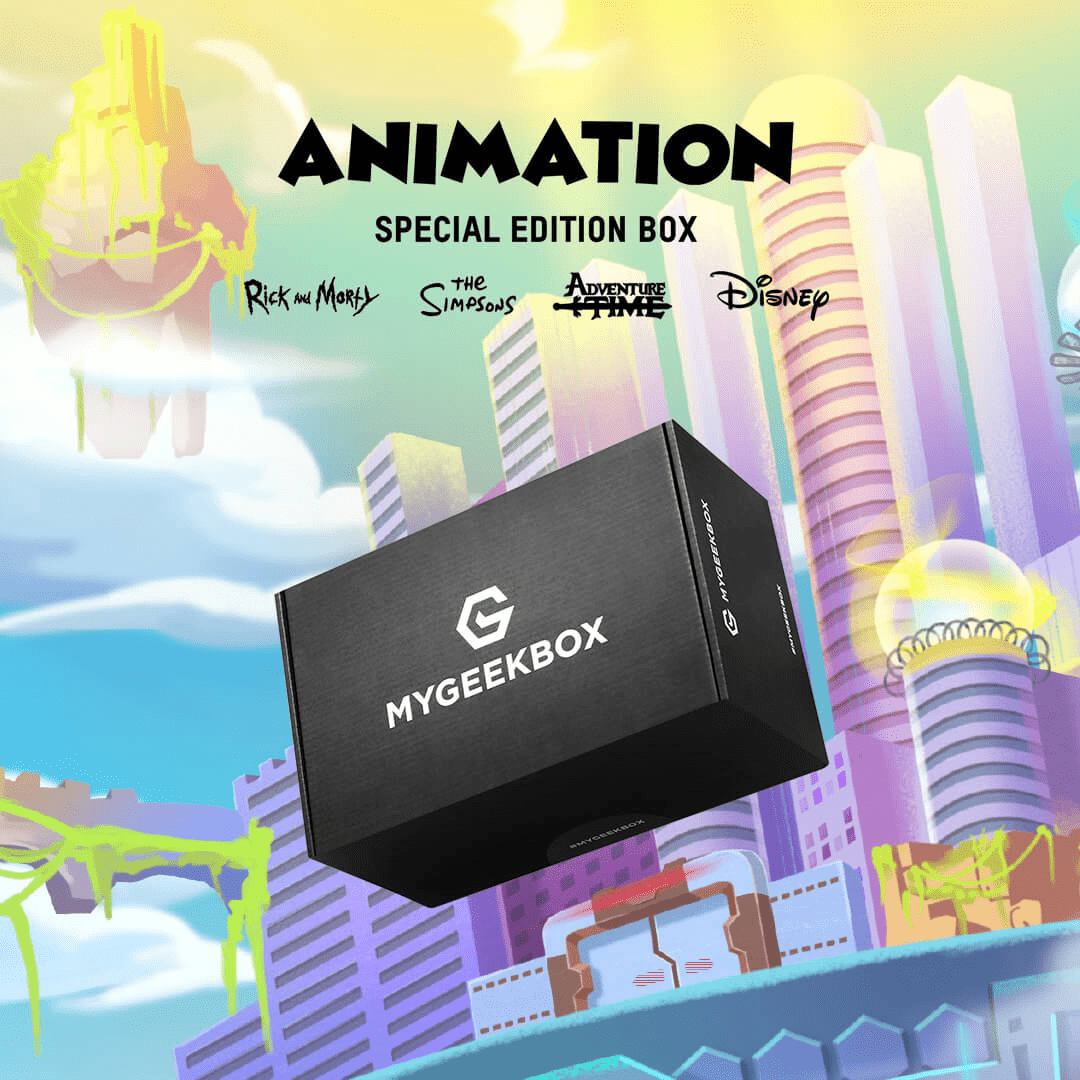 My Geek Box Special Edition Animation Box Available For Pre-Order Now + Spoilers!