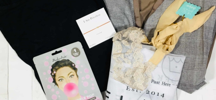 My Fashion Crate November 2018 Subscription Box Review