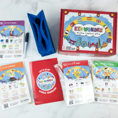 Kid Wonder Little Dreamers Box November 2018 Subscription Box Review & Coupon