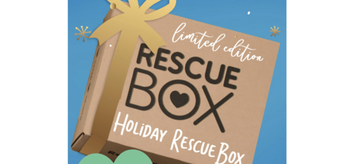 Rescue Box Holiday Sale: Get FREE Holiday Mystery Box With 3+ Month Plan!