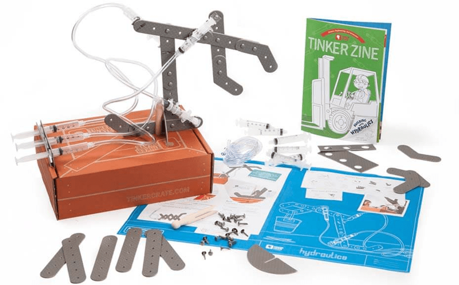Last Chance – Tinker Crate Cyber Monday Deal : First Box $7.95 Shipped!