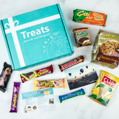 Treats Box November 2018 Review & Coupon