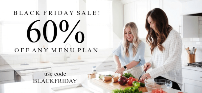 Six Sisters' Menu Plan Black Friday 2018 Coupon: Get 60% Any Menu Plan Programs!