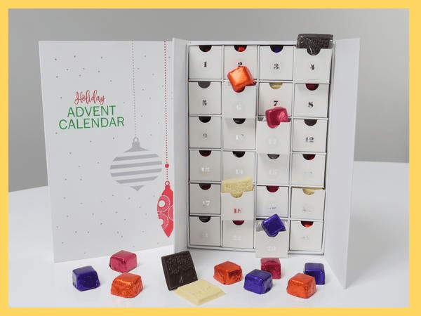 2018 Reach Organics Chocolate Advent Calendar Available Now!