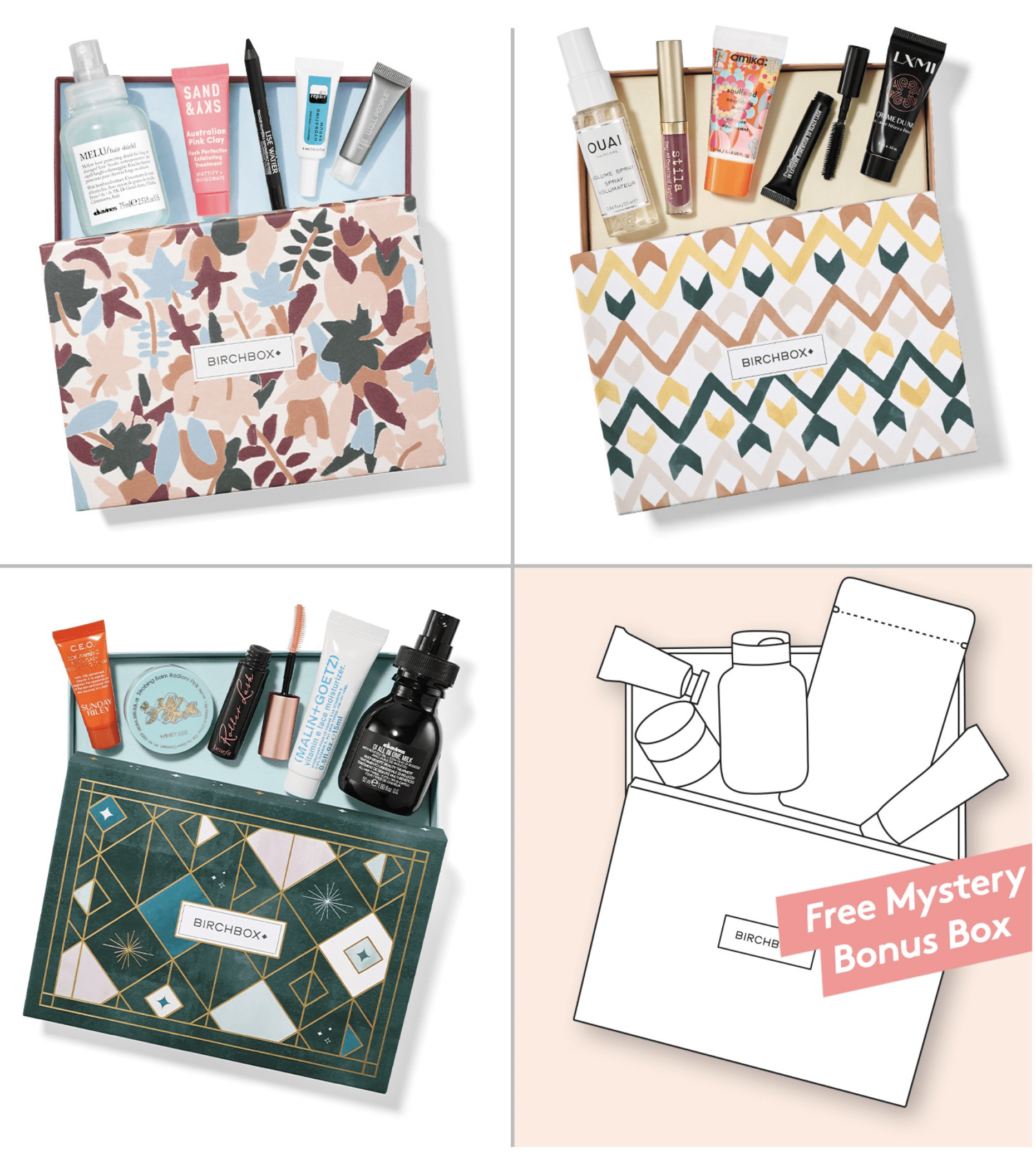 Birchbox Coupon: FREE Bonus Box with 3-Month Subscription!