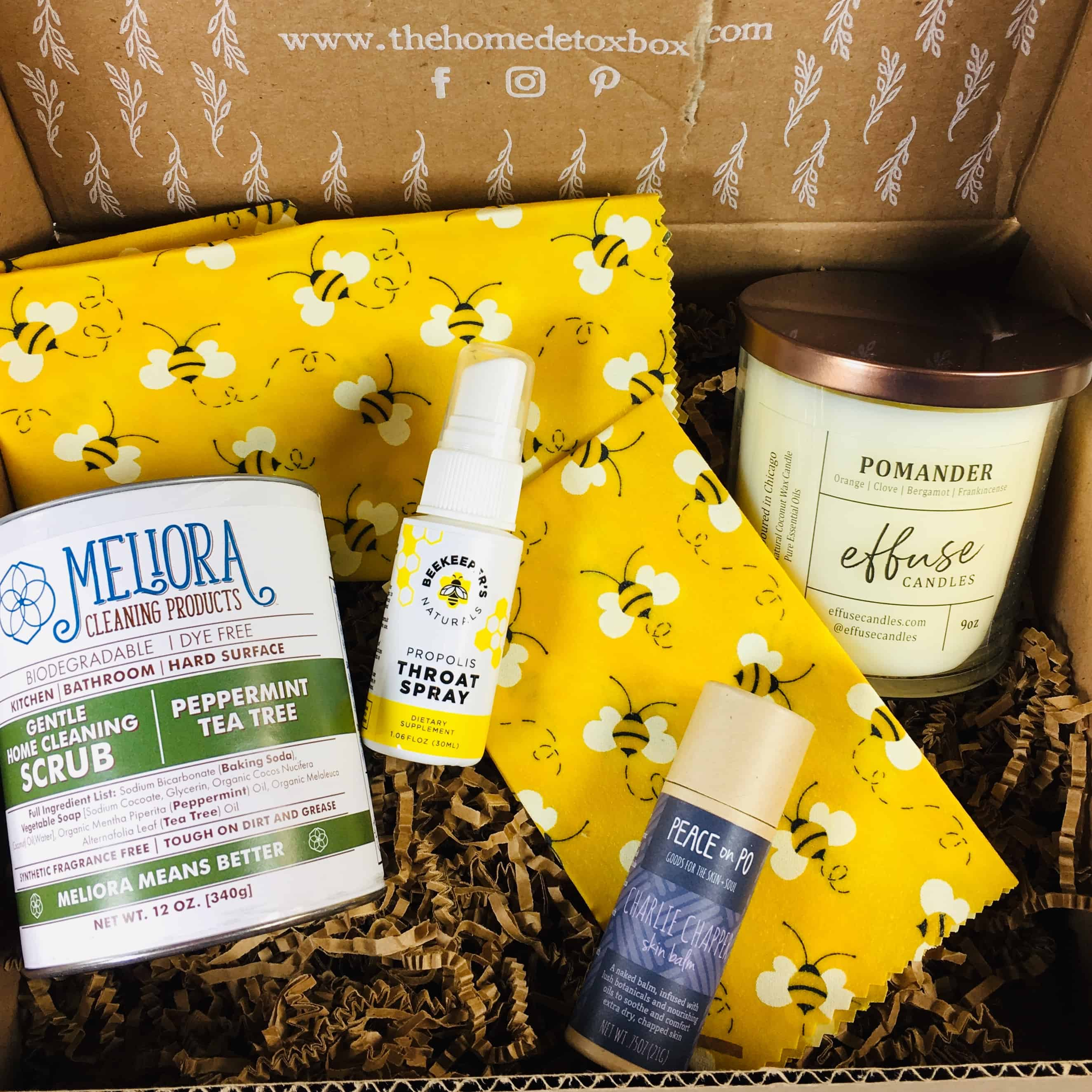 The Home Detox Box November/December 2018 Subscription Box Review + Coupon