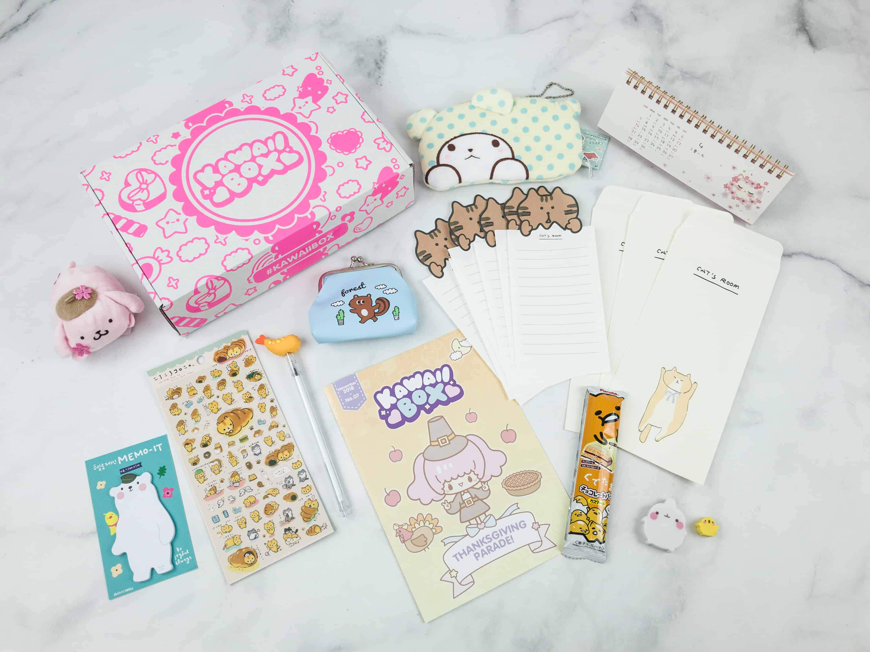 Kawaii Box November 2018 Subscription Box Review