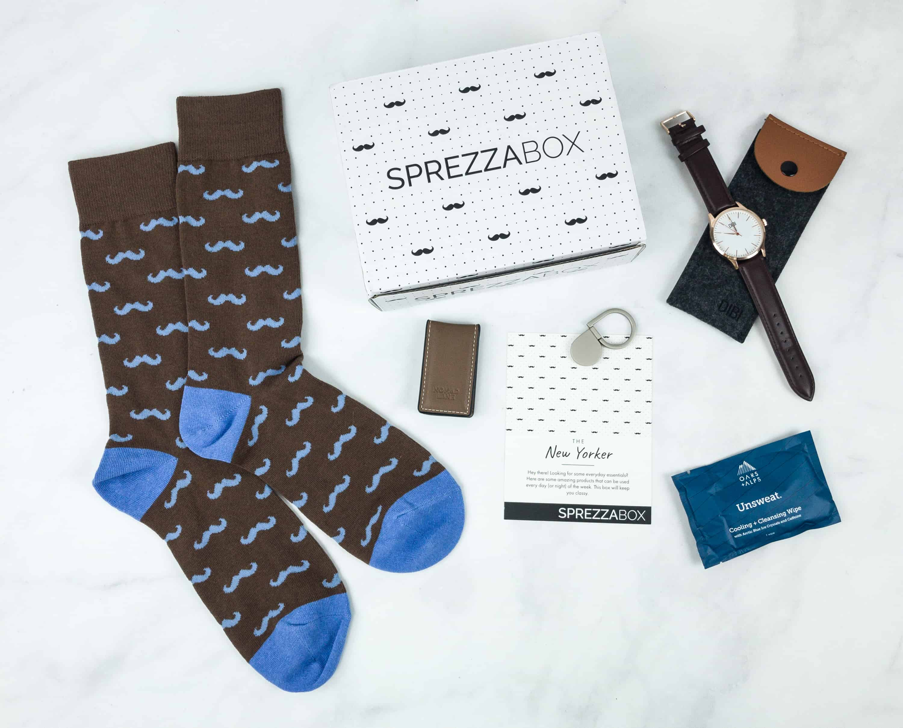 SprezzaBox November 2018 Subscription Box Review + Coupon