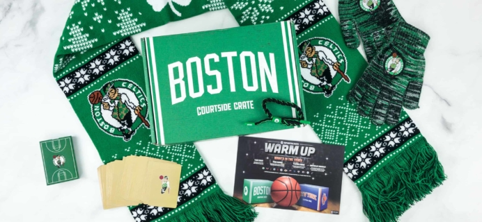 NBA Courtside Crate by Sports Crate November 2018 Subscription Box Review + Coupon