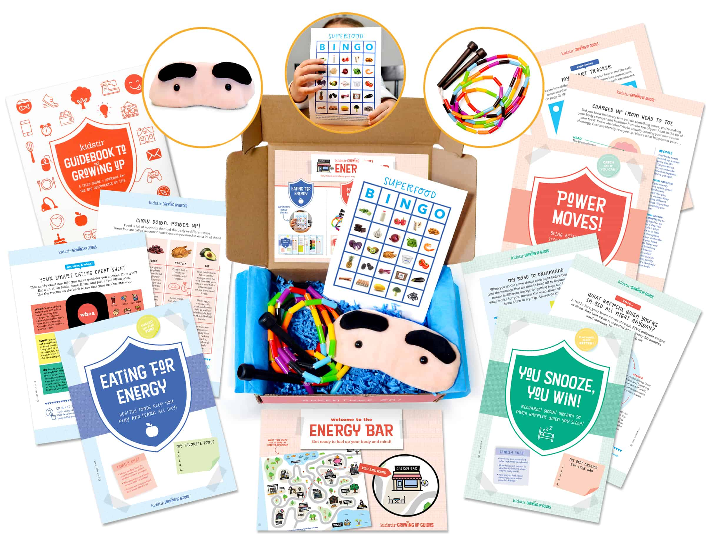 Newest Subscription Boxes: Kidstir Growing Up Guides Available Now + Spoilers + Coupon!