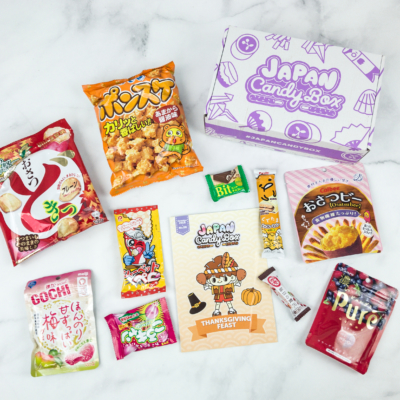 Japan Candy Box November 2018 Review + $5 Coupon!