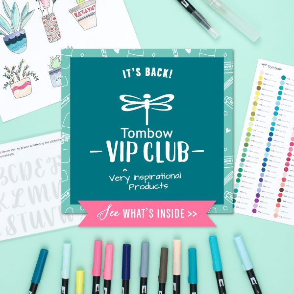 Tombow VIP Club November 2018 Box Available Now + Full Spoilers!