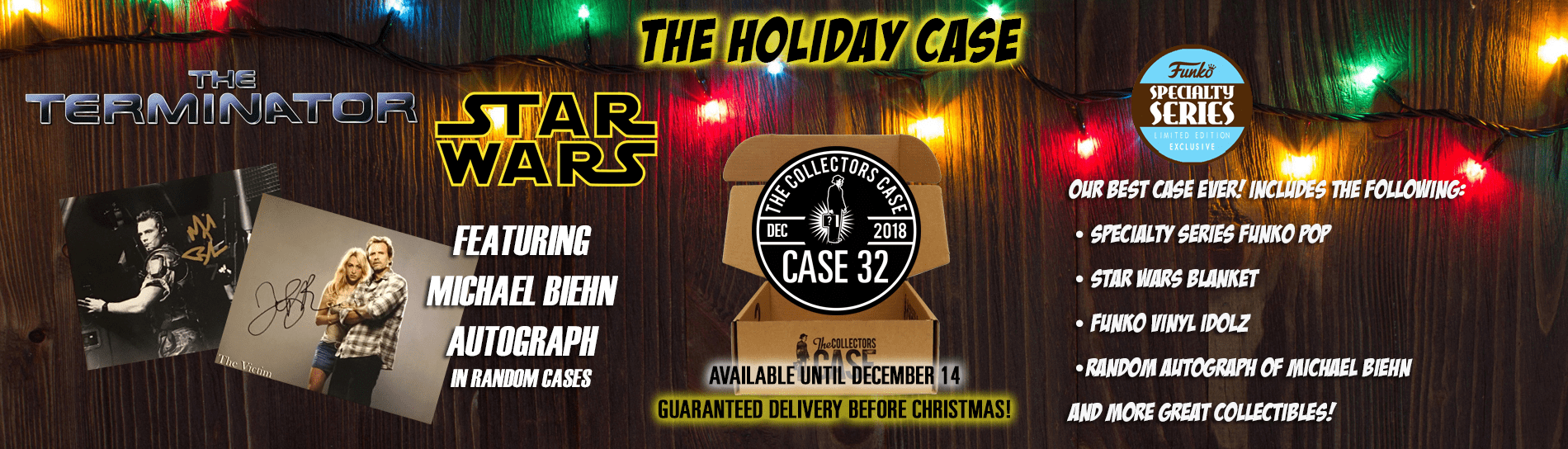 The Collectors Case December 2018 Spoilers!