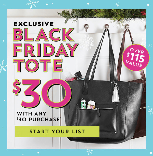 Bath & Body Works Black Friday 2018 VIP Tote Available Now + Full Spoilers!