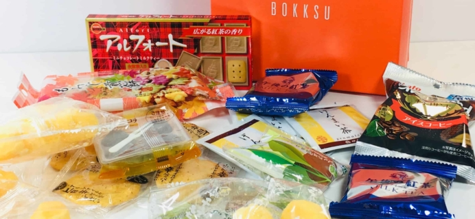 Bokksu November 2018 Subscription Box Review + Coupon