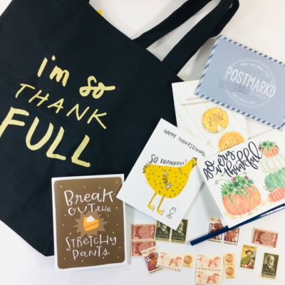 PostBox Subscription Box Review + Coupon – November 2018