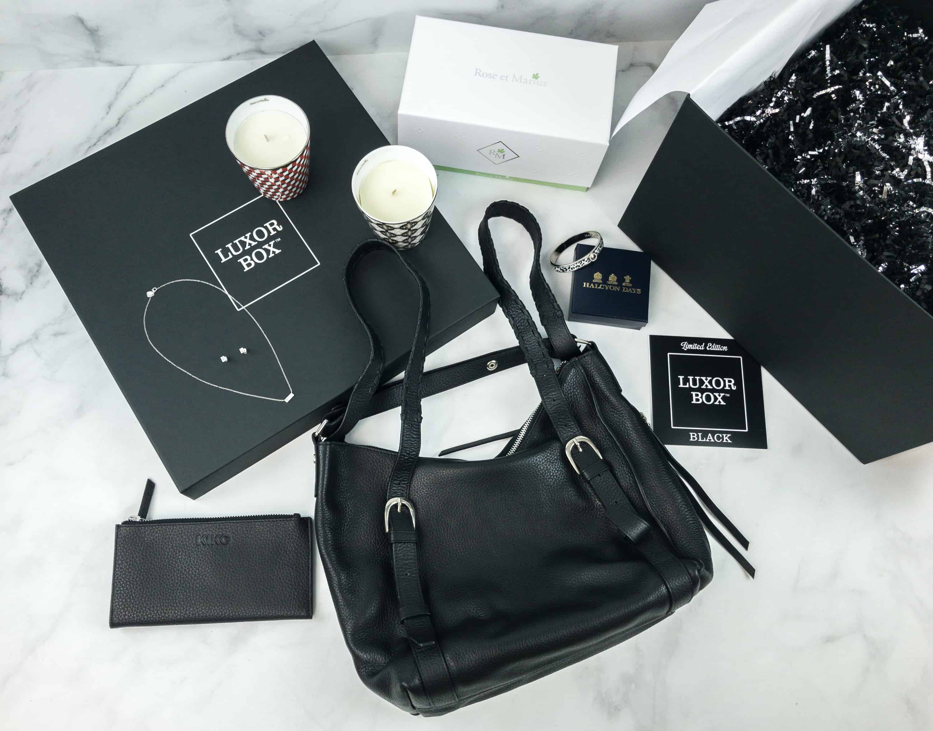 Luxor Box Limited Edition BLACK Box 2018 Review
