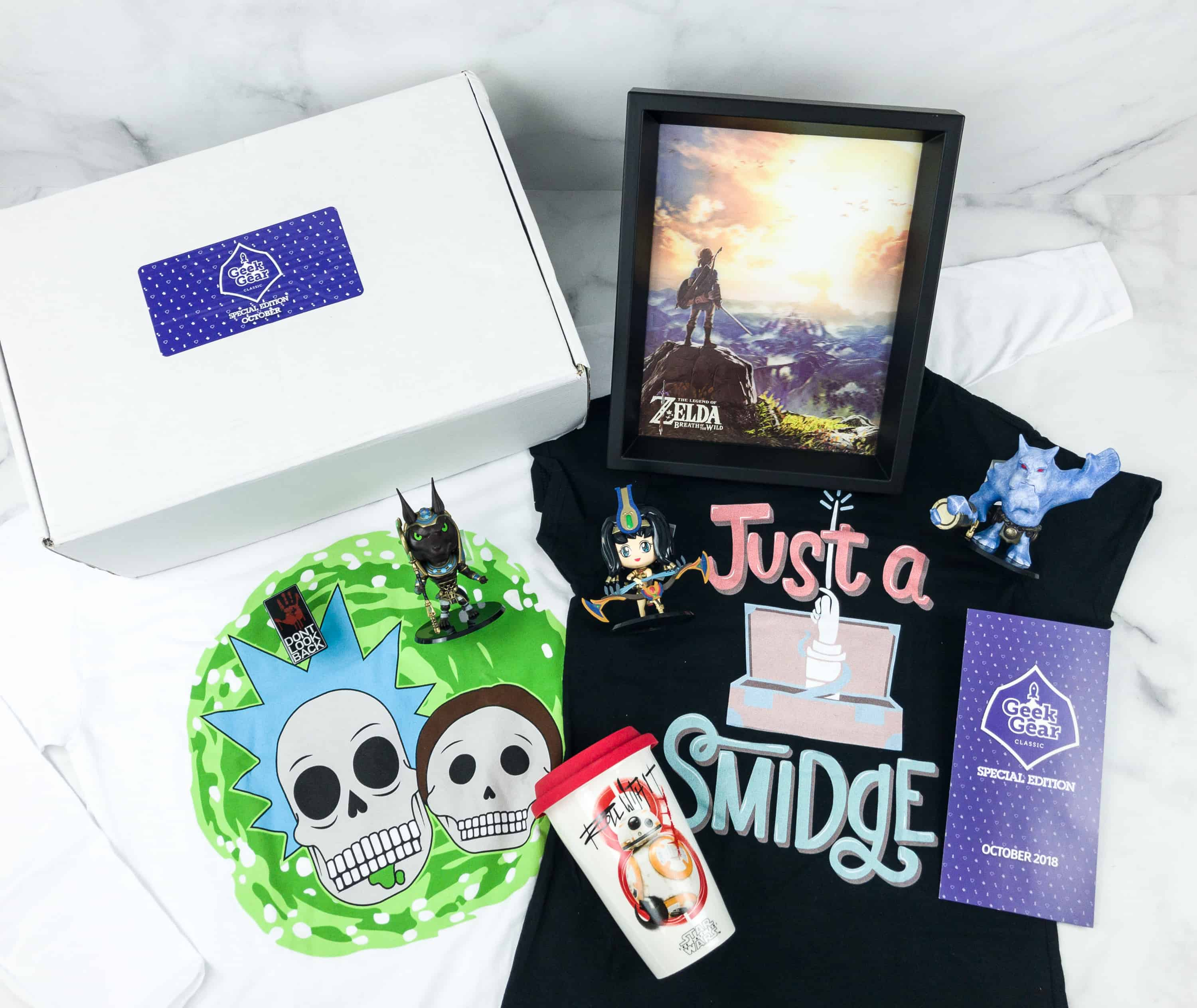 Geek Gear Box Special Edition October 2018 Subscription Box Review + Coupon