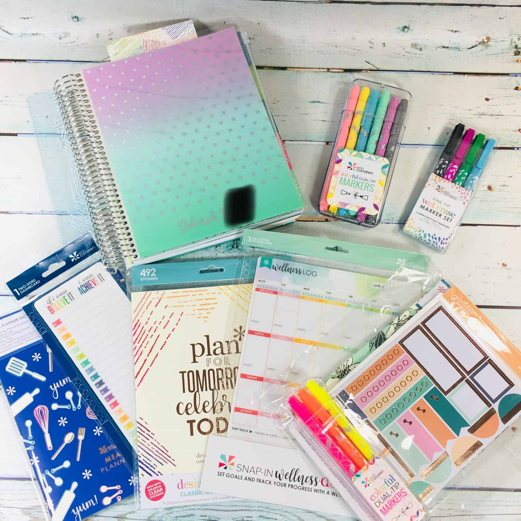 Erin Condren 2018 – 2019 LifePlanner Review + Coupon