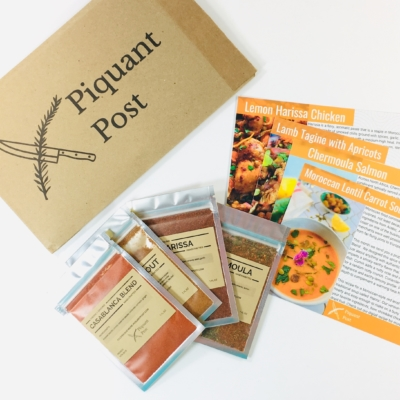 Piquant Post November 2018 Subscription Box Review + Coupon!