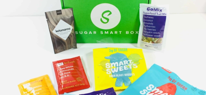 Sugar Smart Box November 2018 Subscription Box Review + Coupon