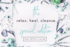 """Bombay & Cedar """"Relax. Heal. Cleanse."""" 2018 Special Edition Box Available Now + Full Spoilers & Coupon!"""